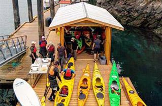 Saturna Kayak Shack – Ocean River Sports Outpost